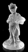Figur Frühling ca 80mm - Bleikristallglas