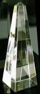 glas obelisk kristallglasobelisk kristallobelisk optisch rein 15cm 150mm schreiber glas. Black Bedroom Furniture Sets. Home Design Ideas