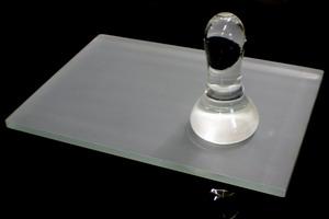 mattglasplatte ca 10mm sandgestrahlt geschliffene kanten u ecken schreiber glas. Black Bedroom Furniture Sets. Home Design Ideas