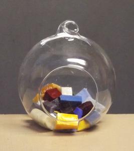 mini terrarium rundlich stehend oder h ngend ca 8cm breit schreiber glas. Black Bedroom Furniture Sets. Home Design Ideas
