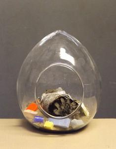 mini terrarium stehend ca 9 5cm breit schreiber glas. Black Bedroom Furniture Sets. Home Design Ideas