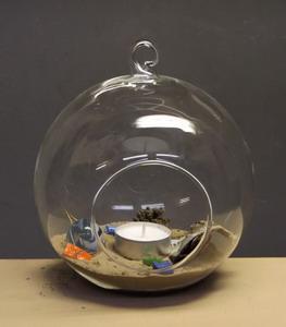 mini terrarium rundlich stehend oder h ngend ca 17cm breit schreiber glas. Black Bedroom Furniture Sets. Home Design Ideas